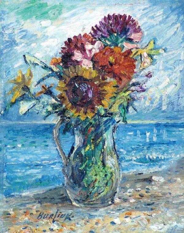 Картинки по запросу bouquet of wild flowers with ocean background