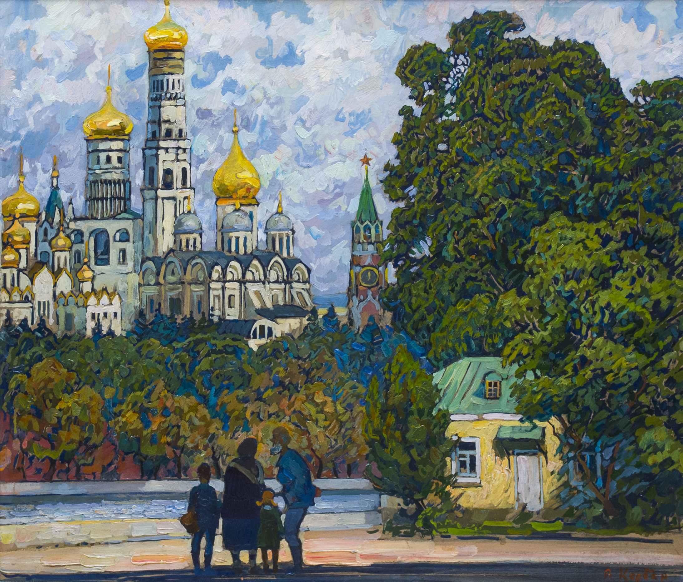 В Москве.