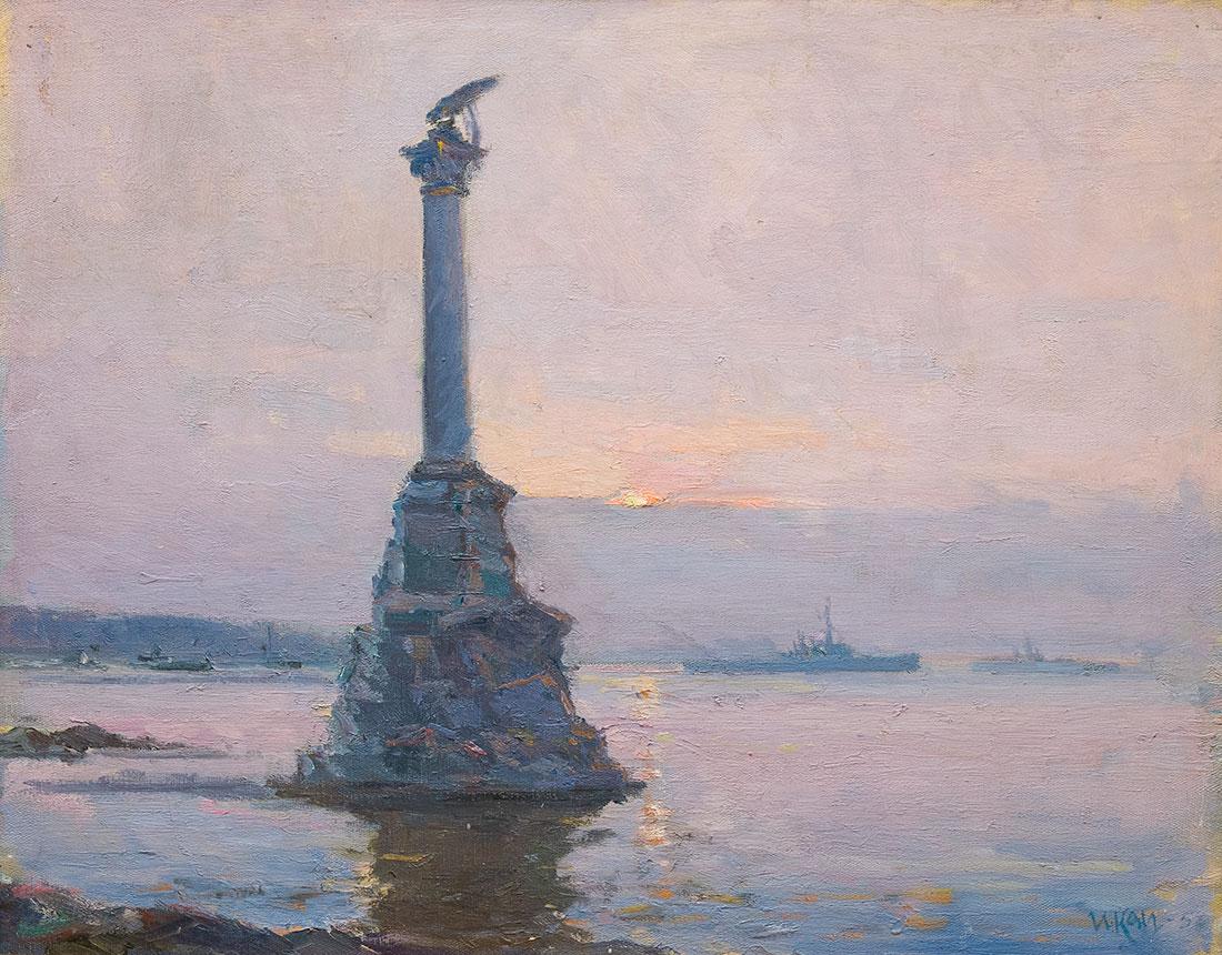 На Севастопольском рейде.