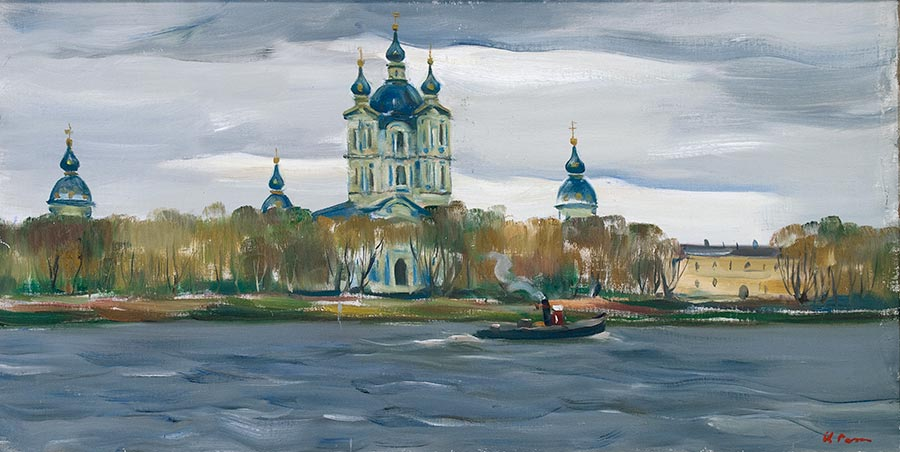 Ленинград. Смольный монастырь.