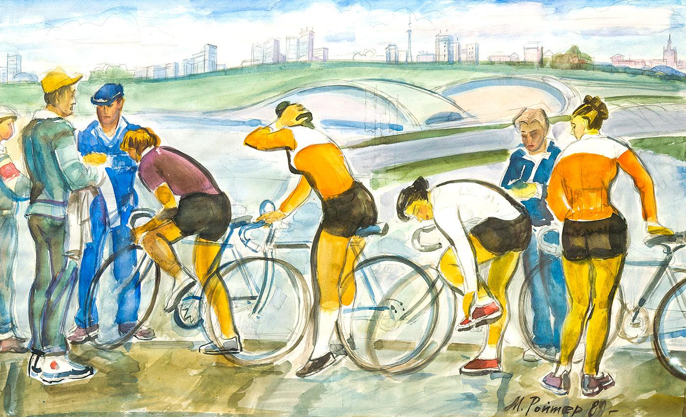 Велогонки.