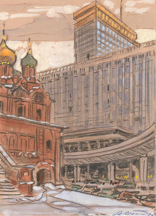 Новая Москва. Гостиница Россия.