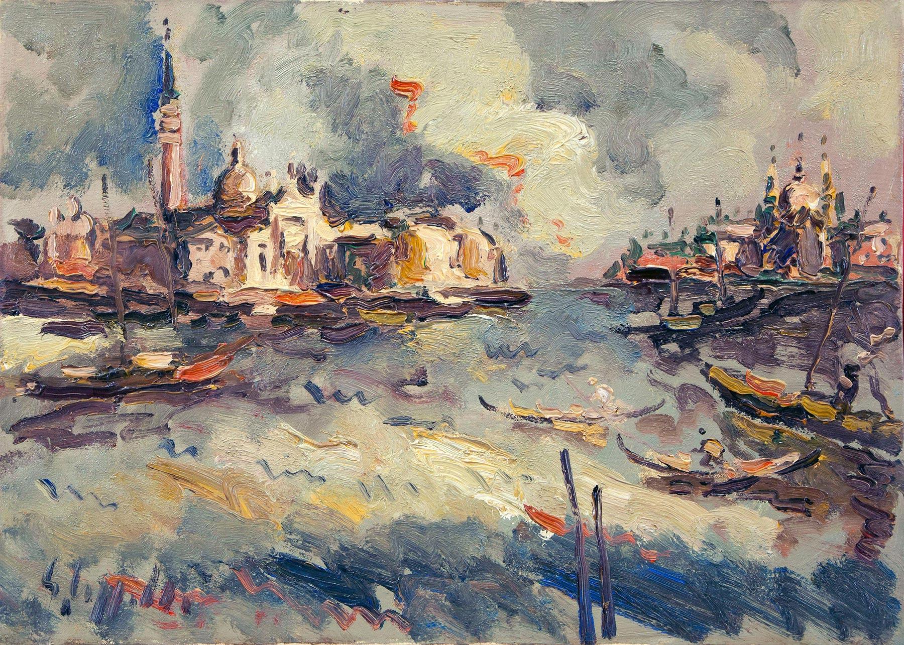 Венецианский пейзаж.