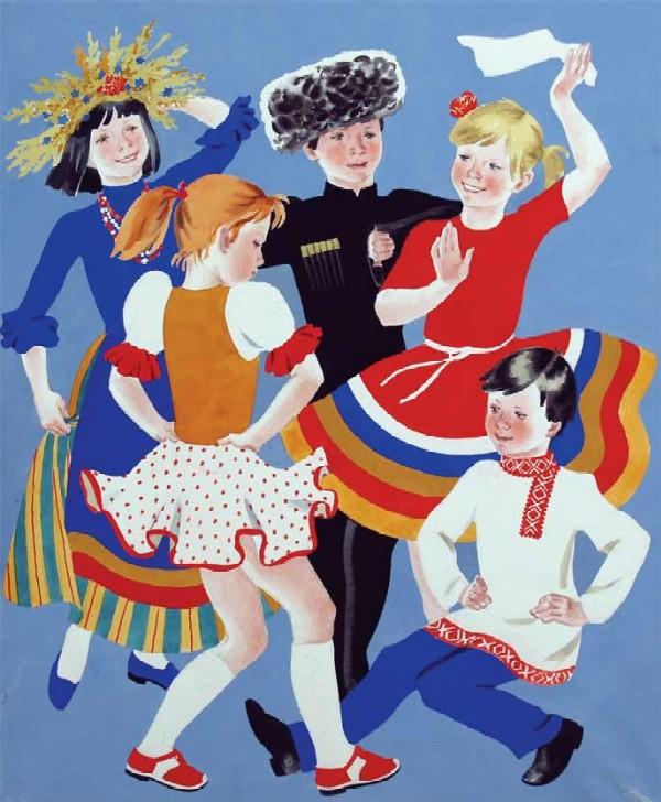 1)Пионерский отряд. 2)Танцы народов Мира.