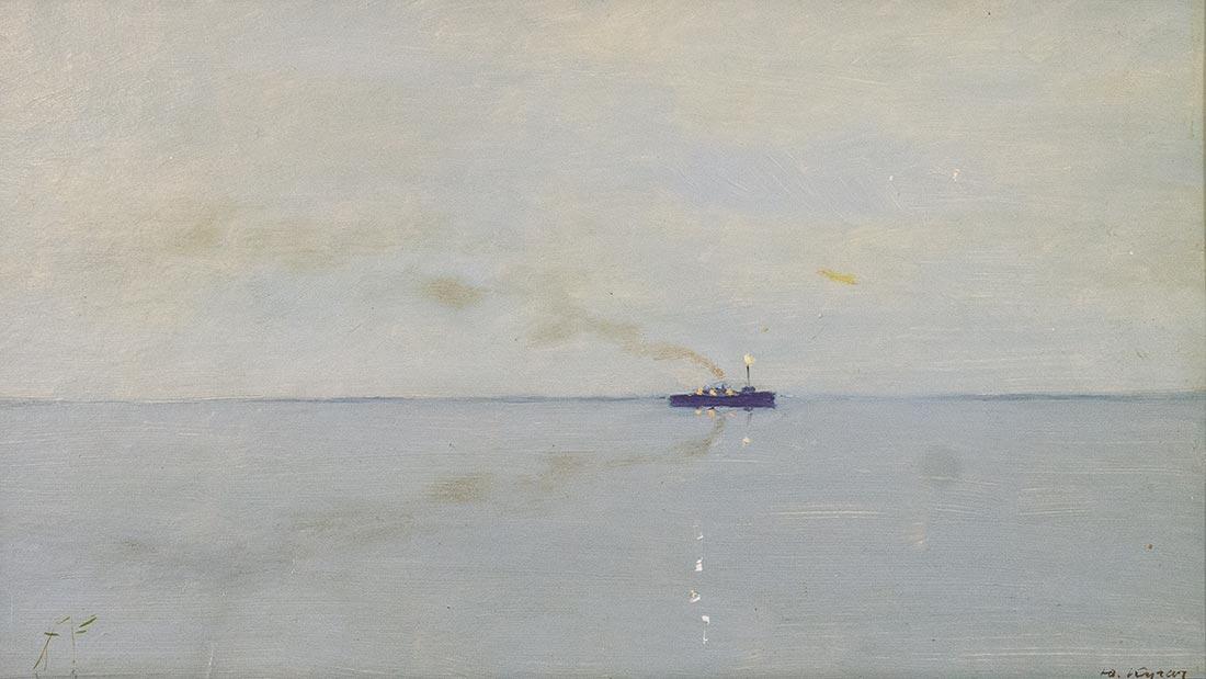 На Онежском озере.