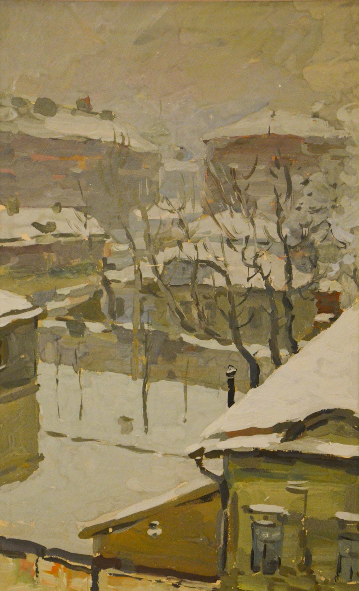 Зимняя Москва.