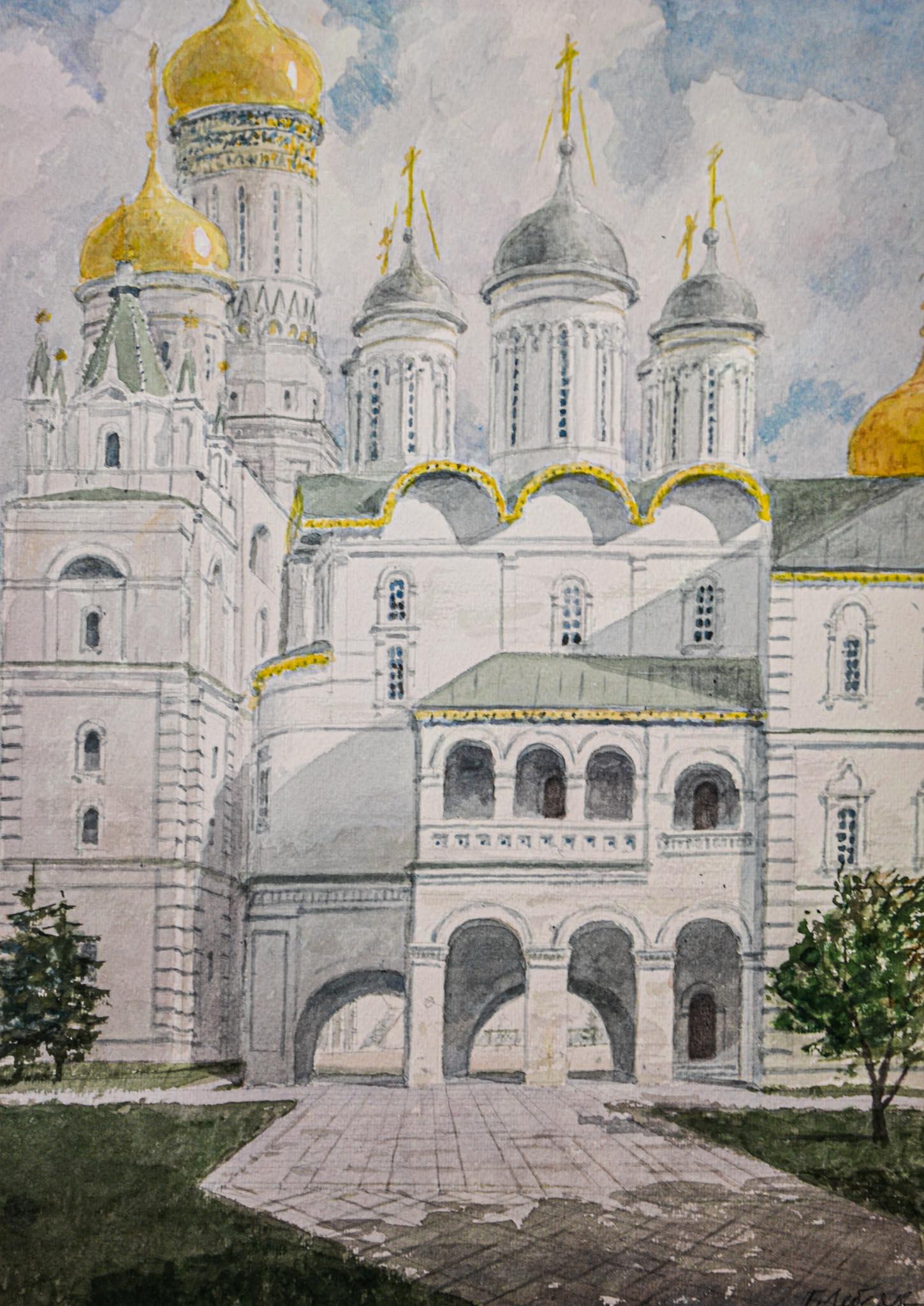 Московский Кремль. Патриаршие палаты.