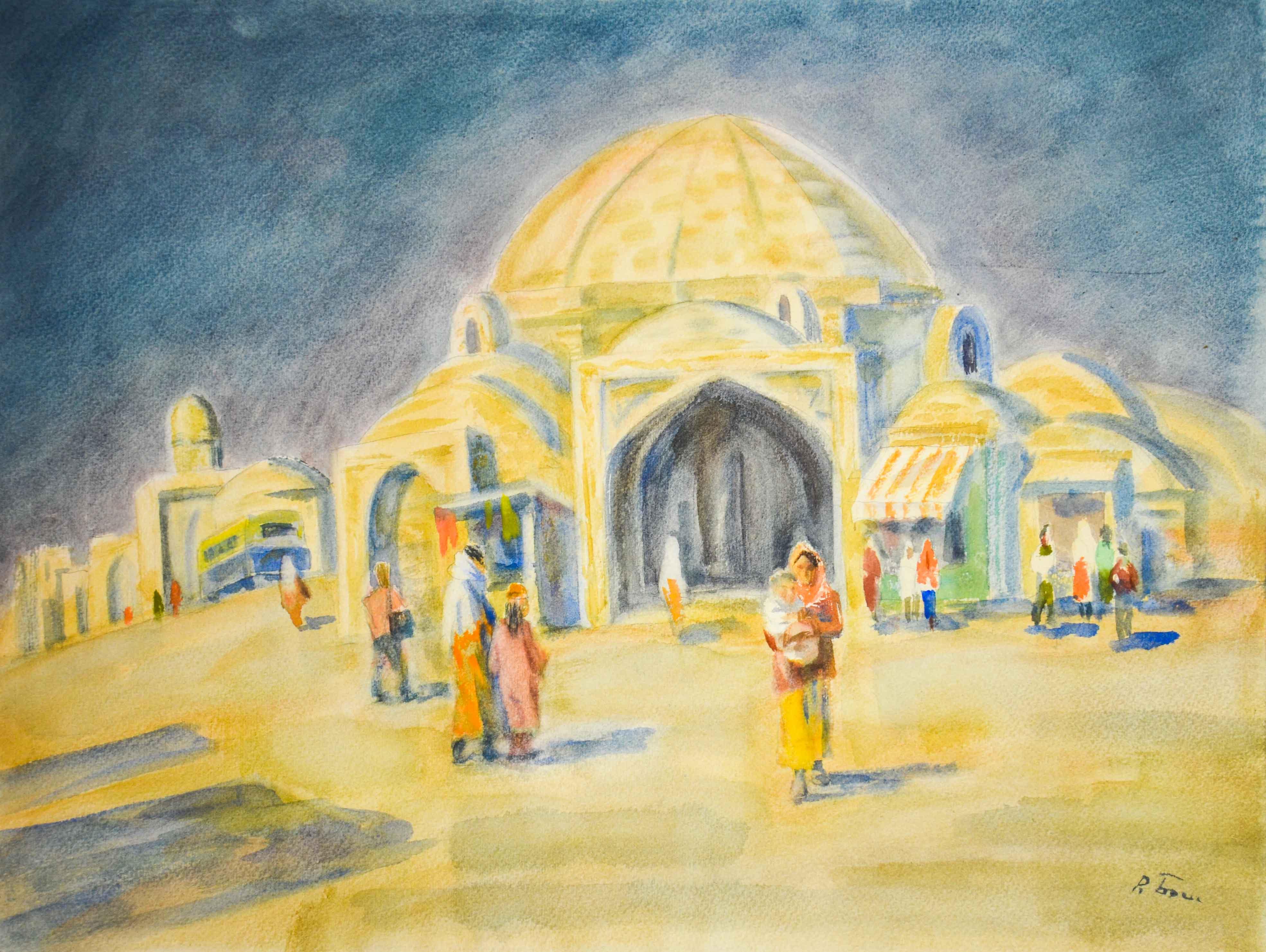 Площадь в Бухаре.