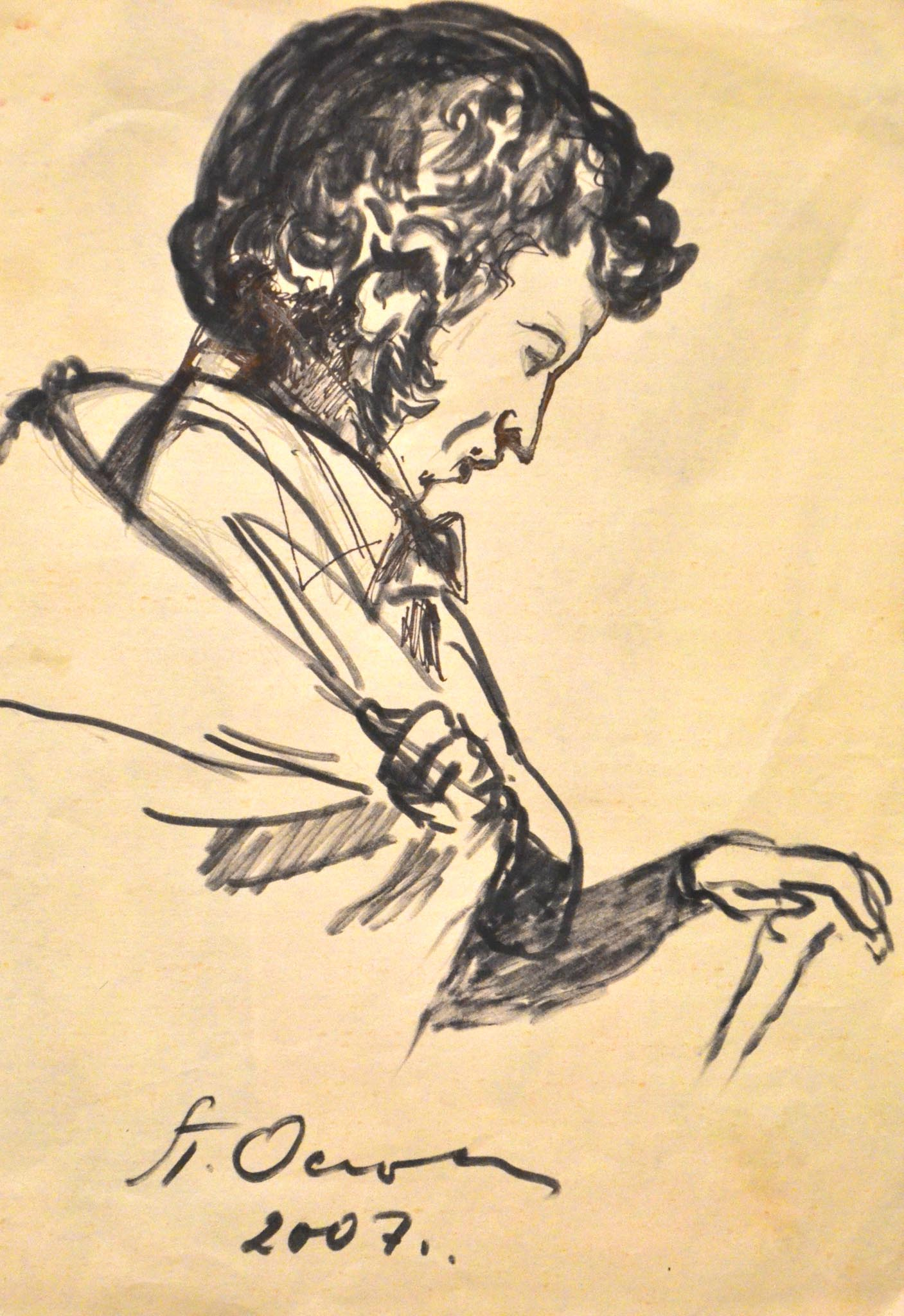 Портрет А.С. Пушкина.