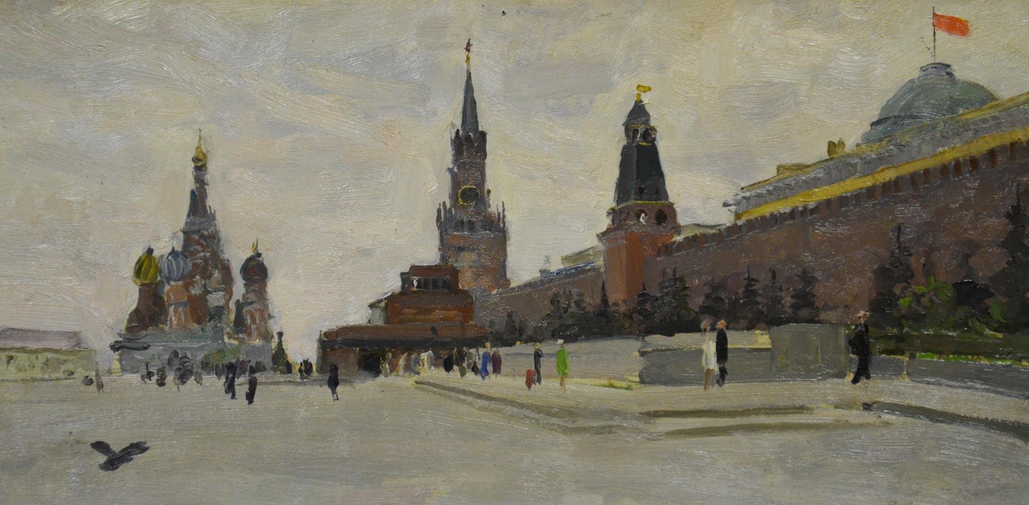 На Красной площади.