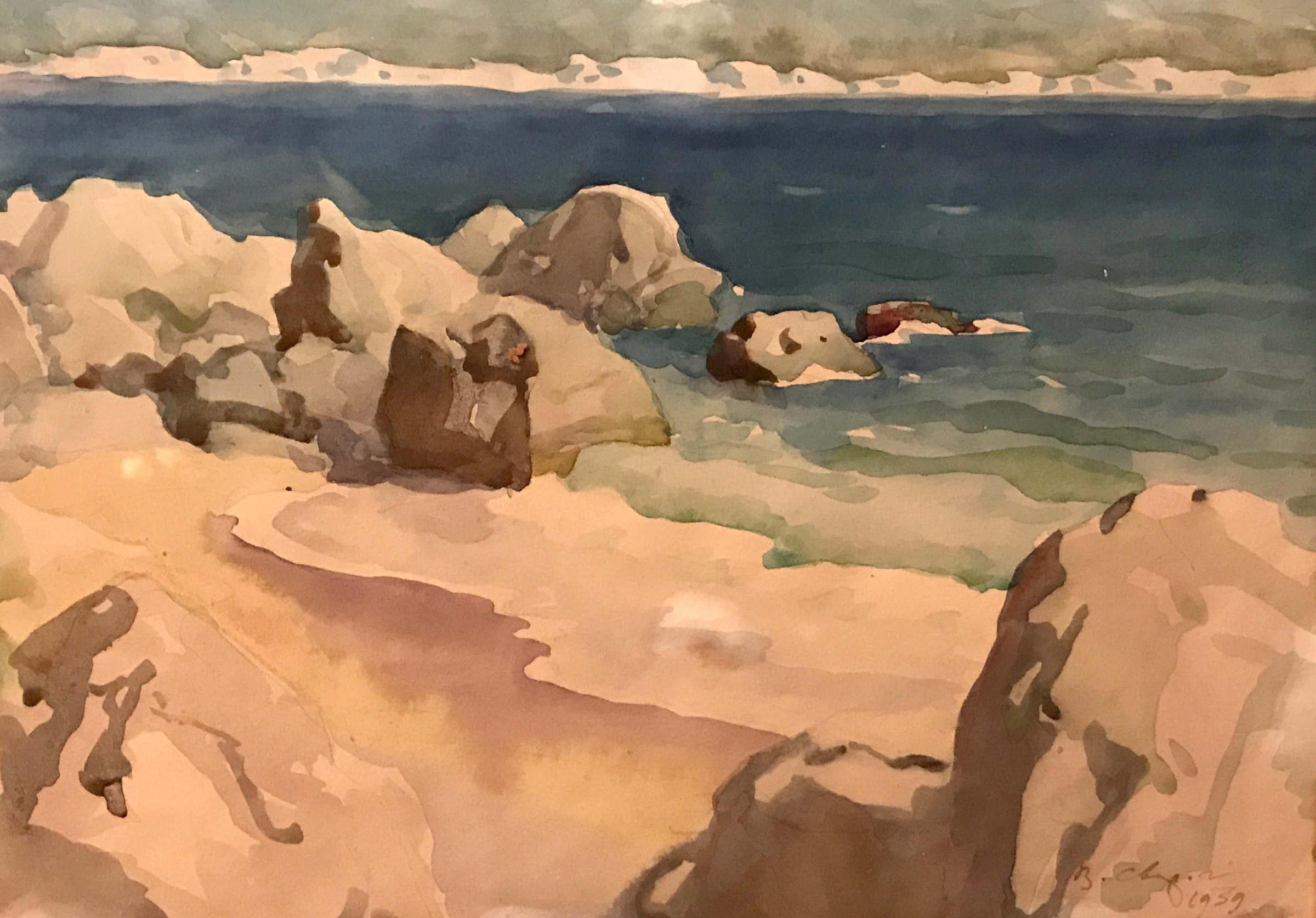 Море. Камни. Крым.