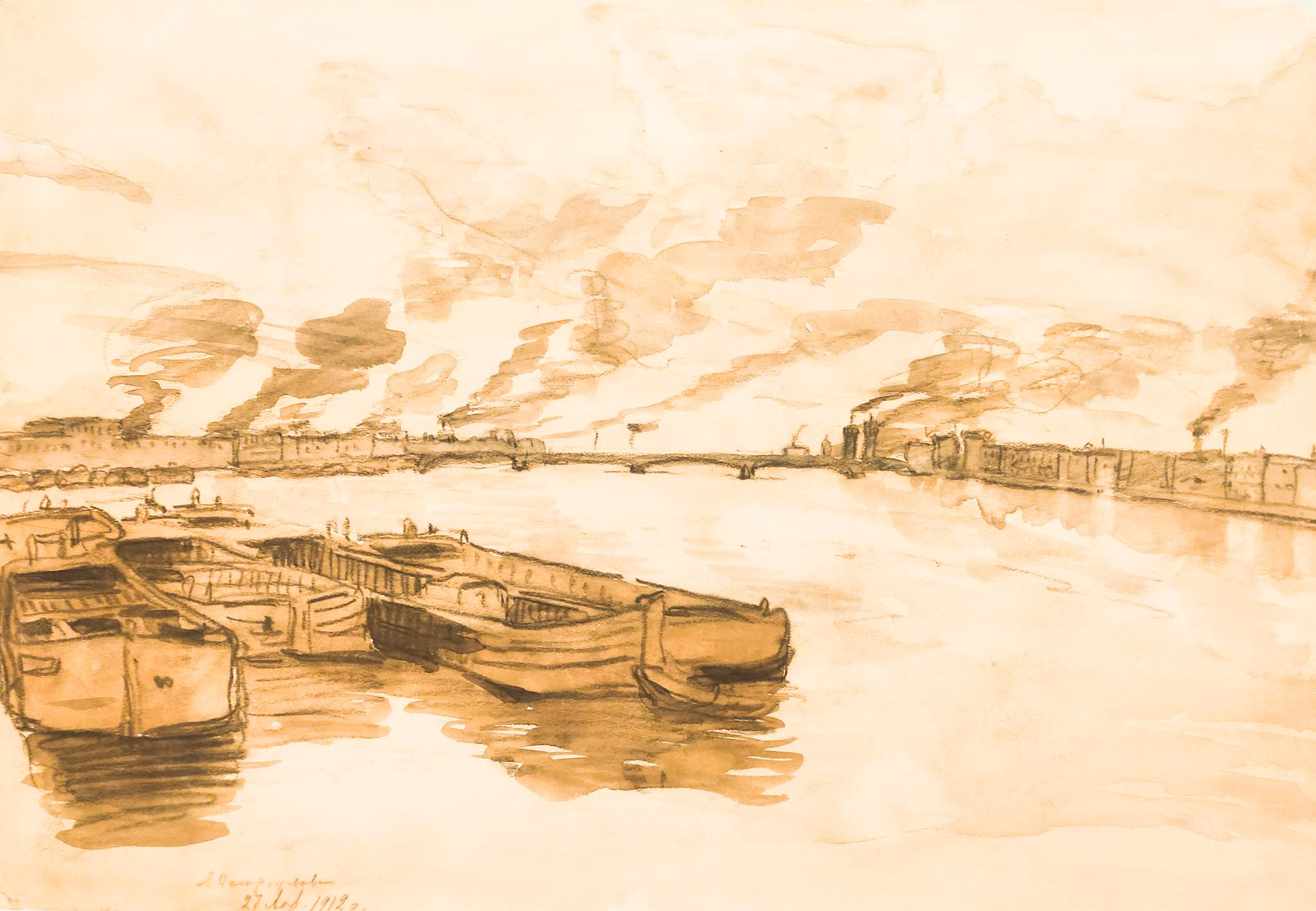 Санкт-Петербург. 1912 год.