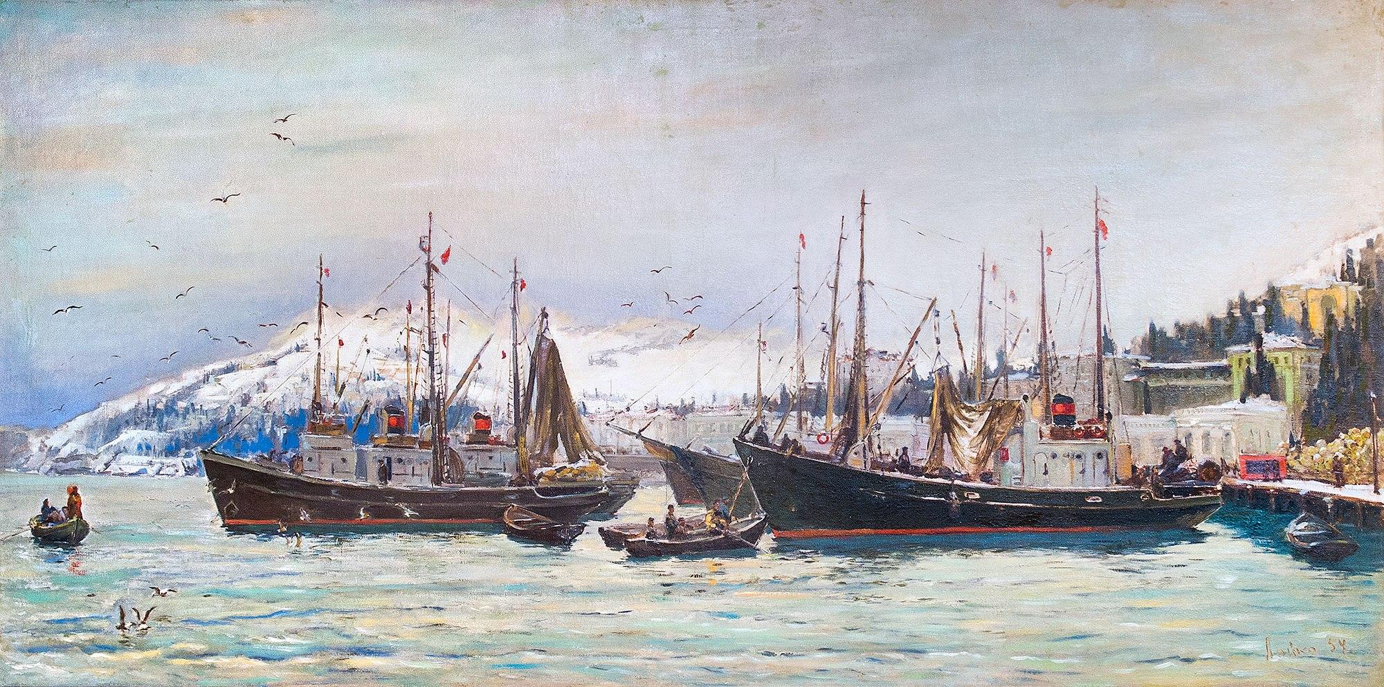 Ялтинский порт.