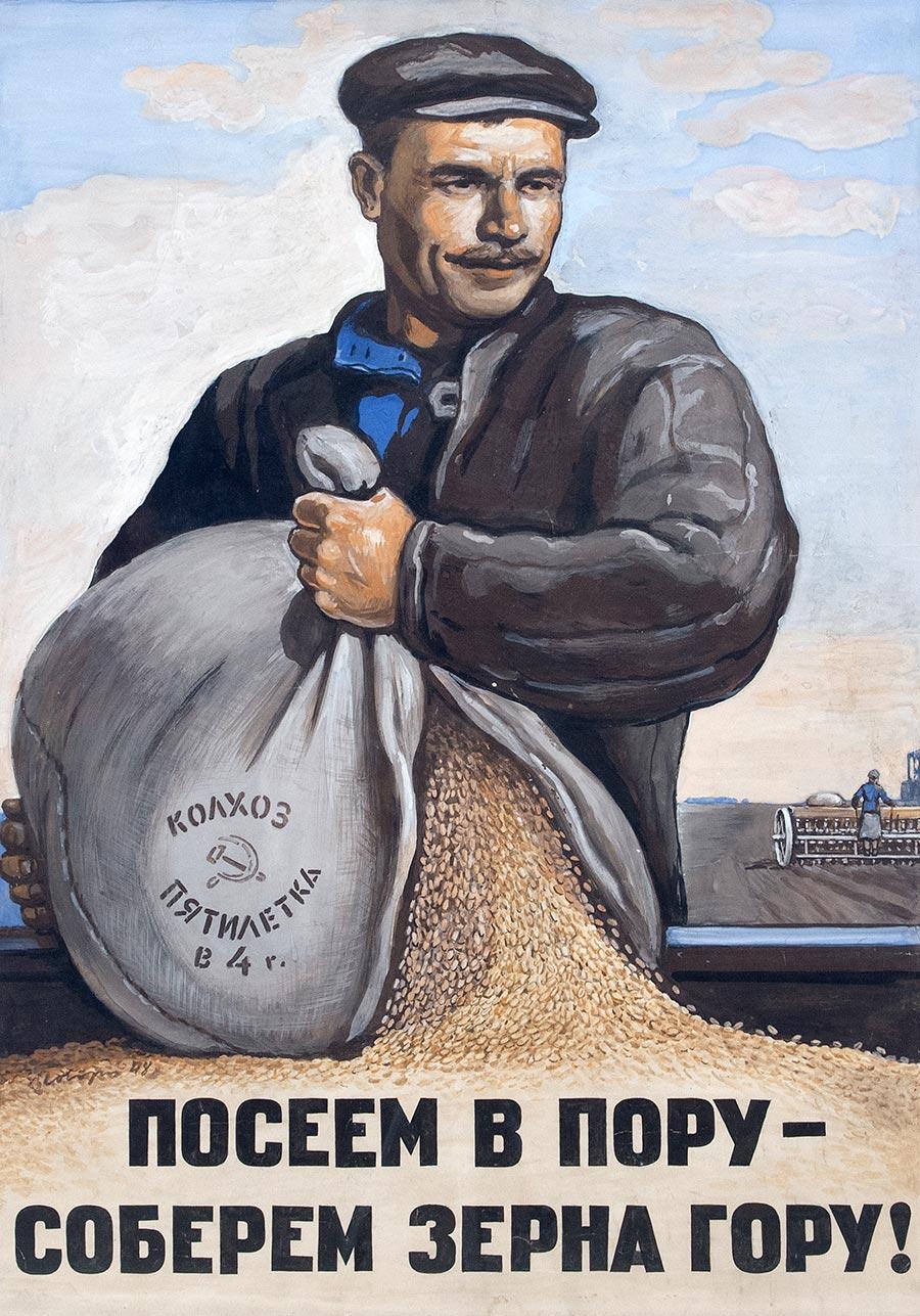 Посеем в пору - соберем зерна гору!