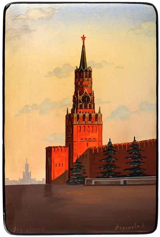 Шкатулка «Спасская башня».