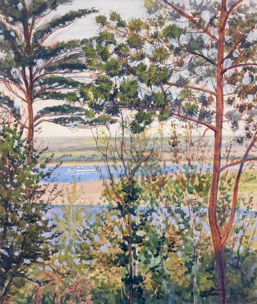 Нижегородский пейзаж.