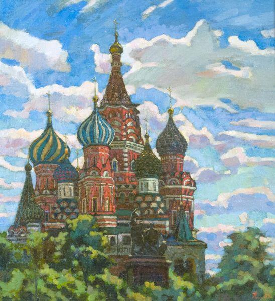 Собор Василия Блаженного.