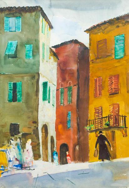 Улица в Ареццо.