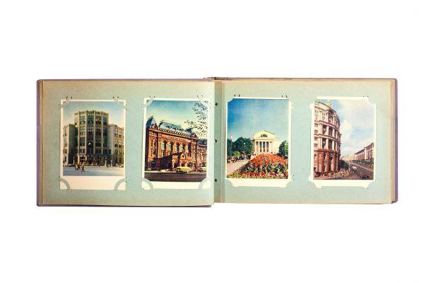 Почтовые карточки. Виды Москвы 1950-х гг.