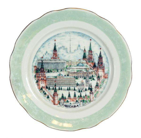 Сувенирная тарелка «Москва».