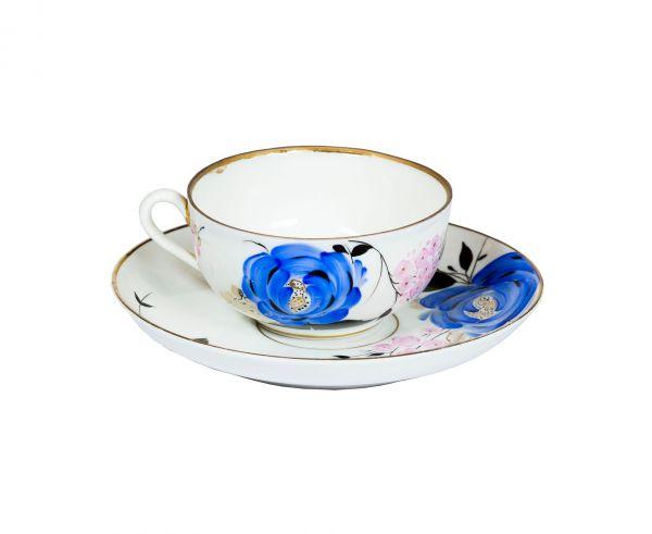 Цветы. Чайная пара.