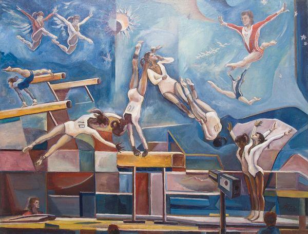 Звездные высоты гимнастики.