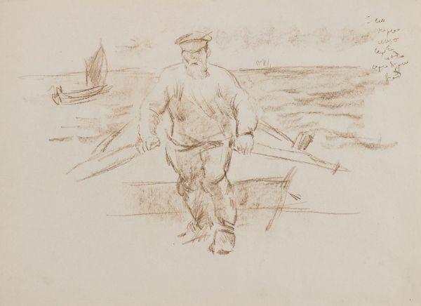 Рыбаки на Волхове.