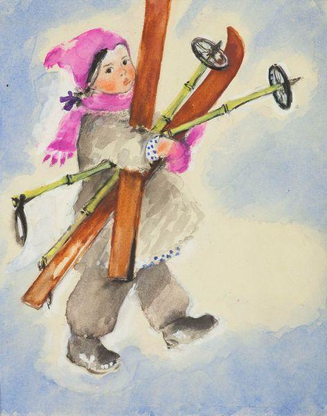 Звездочка. Иллюстрация обложки детского журнала «Звездочка №14».