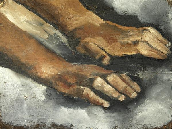 Этюд:Руки.
