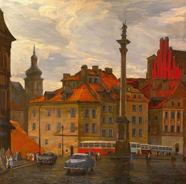 Старая площадь Варшавы.