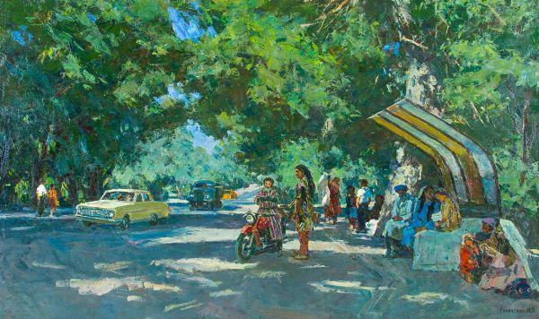Дорога в Ташкент.