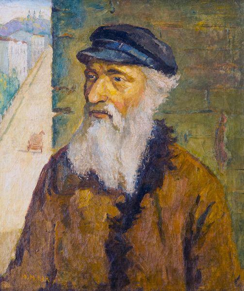 Портрет старого еврея.
