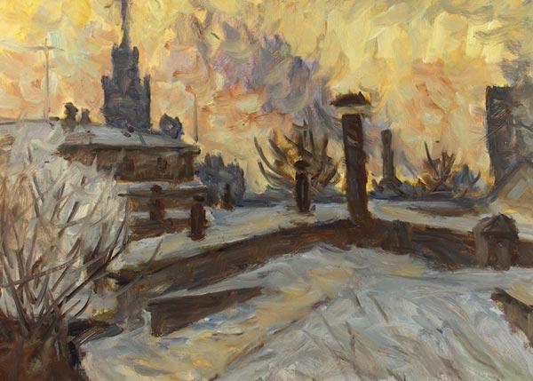 Москва.Крыши.