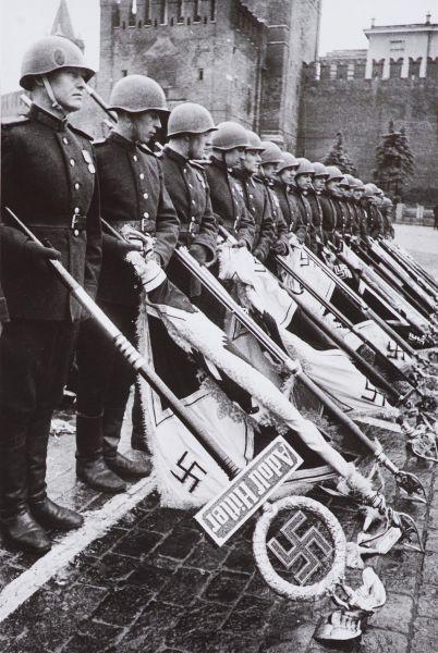 Парад Победы 24 июня 1945 г. Красная площадь.