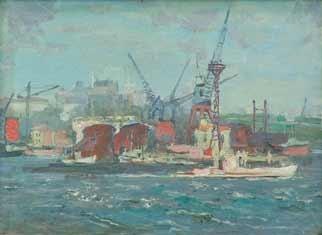 В Одесском порту.