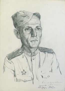 Портрет солдата.