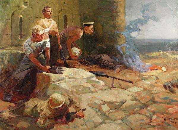 Защитники Севастополя.