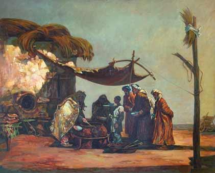 Навруз-Байрам. Праздник Сумалаки.