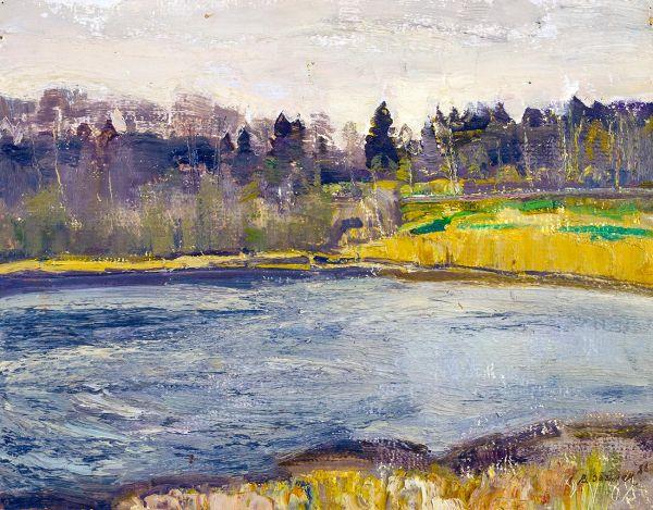 Май на реке Радунке.