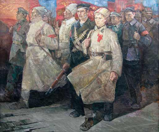 Солдаты революции.