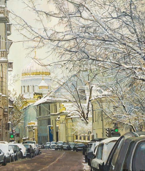 Гагаринский переулок.