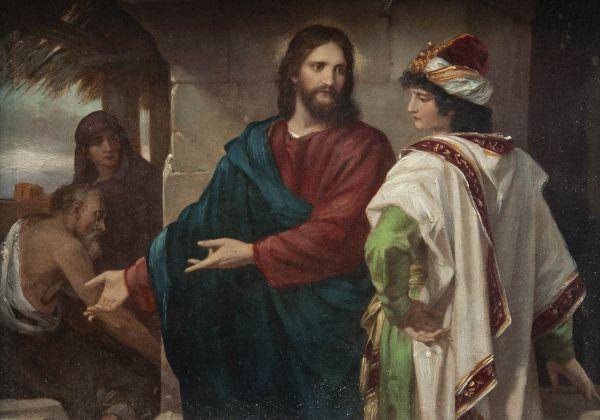 Христос и богатый юноша.