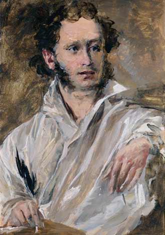 Портрет Пушкина.