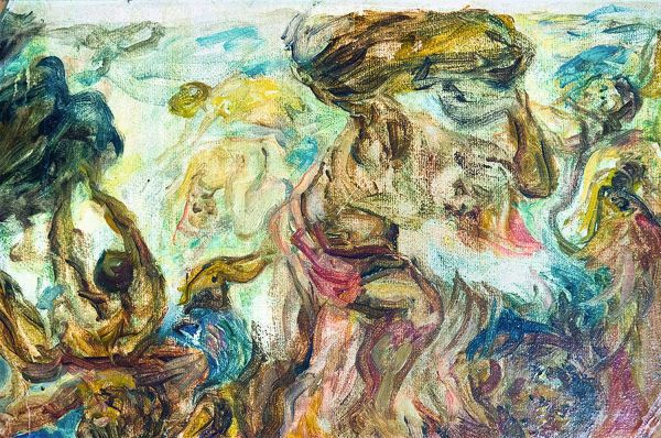 Низвержение титанов. Вариация на тему эскиза Рубенса