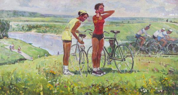 Велосипедисты.