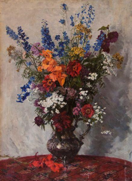 Натюрморт с цветами.