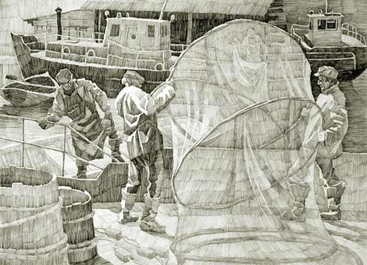 Рыбаки Маэксы.