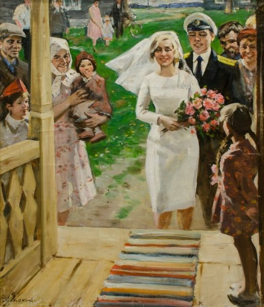 Свадьба морского офицера.