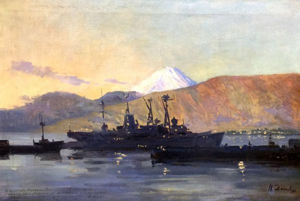 Военные корабли.