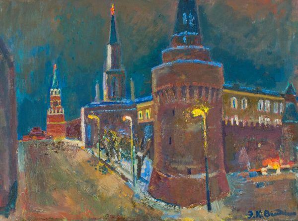 Ночь на Красной площади (вариант).